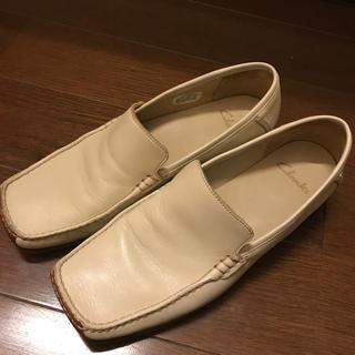 クラークス(Clarks)のクラークス レディース *アイボリー(ローファー/革靴)