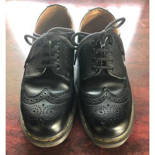 コムデギャルソン(COMME des GARCONS)のコムデギャルソン ドクターマーチン ウイングチップ UK6.5(ブーツ)