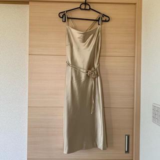 【新品】KLEIN D'OEIL クランデュイュ ワンピース ドレス  結婚式(ミディアムドレス)