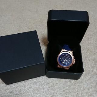 マイケルコース(Michael Kors)の美品 マイケルコース 腕時計 MK-8295 クオーツ  ラバーベルト(腕時計(アナログ))