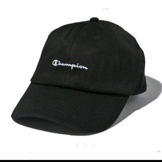 SPINNS - champion ツイールローキャップ 黒