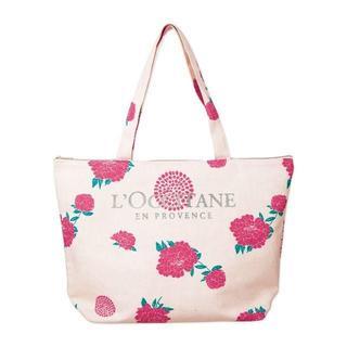 ロクシタン(L'OCCITANE)の初夏の花咲くトート(トートバッグ)