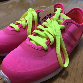 アディダス(adidas)のadidas(ピンク)【Ladys/24.0/新品】(スニーカー)