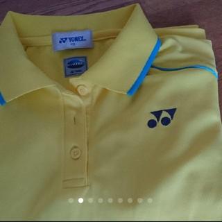 ヨネックス(YONEX)のYONEX ポロシャツ イエロー(ポロシャツ)