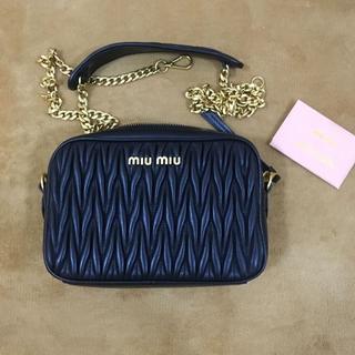 miumiu - 正規miumiuショルダーバッグ