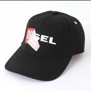 DIESEL - 新品未使用品 DIESEL ボックスロゴ ロゴ キャップ ディーゼル 即対応可能