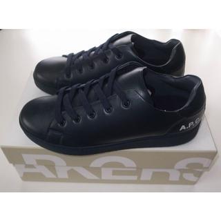 アーペーセー(A.P.C)のAPC■hide leather sneaker レザー スニーカー 41(スニーカー)