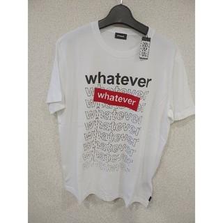 DIESEL - ☆新品☆ DIESEL ディーゼル ホワイト Tシャツ タグ付 Lサイズ 即対応
