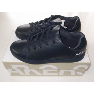 アーペーセー(A.P.C)のAPC■hide leather sneaker レザー スニーカー 42(スニーカー)