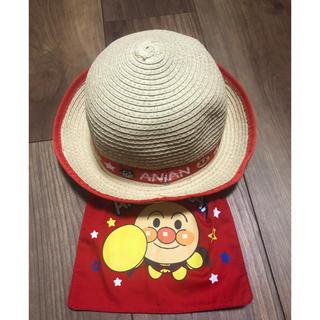 バンダイ(BANDAI)のアンパンマン  麦わら帽子 48cm ※新品(帽子)