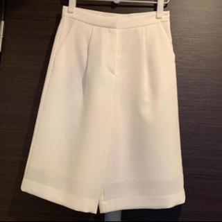 フレイアイディー(FRAY I.D)の新品タグ付き フレイアイディー パンツ ホワイト(カジュアルパンツ)