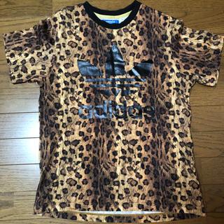 adidas - adidas originals Tシャツ レオパード S adidas