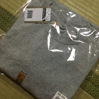 カーハート(carhartt)のカーハート Tシャツ グレー L(XL)(Tシャツ/カットソー(半袖/袖なし))