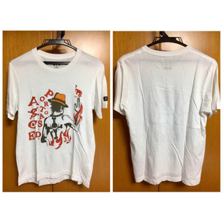ユニクロ(UNIQLO)のUNIQLO×ワンピース コラボTシャツ(ホワイト)(Tシャツ/カットソー(半袖/袖なし))