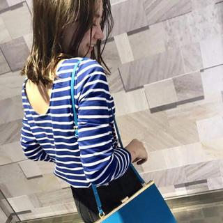 Mila Owen - ♡Mila Owen*後ろ開きボーダーロングTシャツ♡