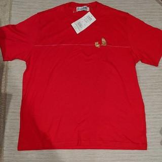 新品タグ付き クニオコレクション 赤 猫 Tシャツ 半袖
