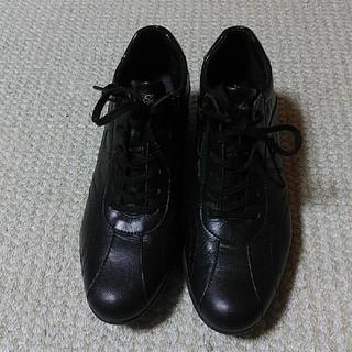 黒シユーズ23センチ(ハイヒール/パンプス)