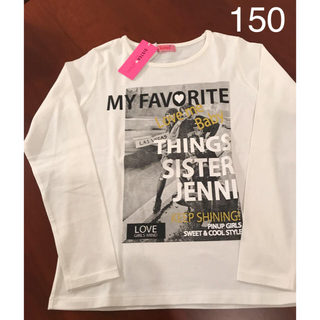 JENNI - 【美品未使用品】シスタージェニィ長袖Tシャツ150サイズ