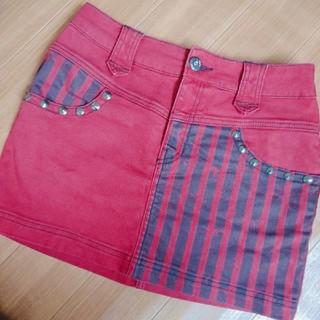 アルゴンキン(ALGONQUINS)のALGONQUINS 切り替えタイトスカート(ミニスカート)