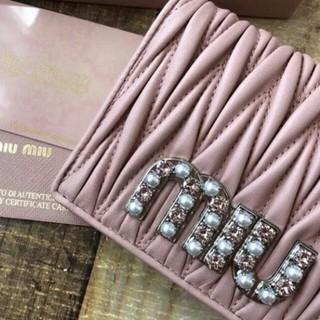 miumiu - 【新品】 miumiu 折り財布