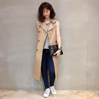 トゥデイフル(TODAYFUL)のTUDAYFUL  Sleeveless Long Trench Coat(トレンチコート)