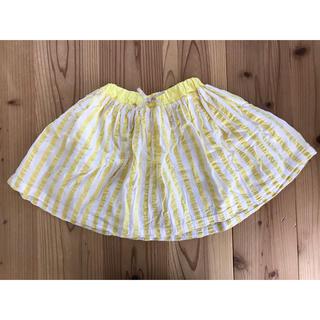 petit main - petit main ストライプのスカート