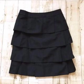 ADORE - ADORE アドーア  ブラック  ティアードスカート