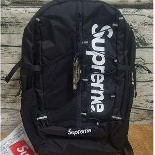 シュプリーム(Supreme)の即日発送 supreme17ssBackpack black(バッグパック/リュック)