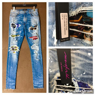 AMIRI☆GNR ART PATCH JEANS