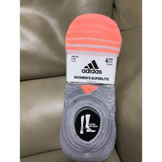 adidas - アディダス レディース ソックス 靴下 23〜25cm 6足セット