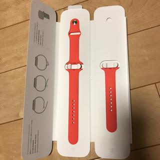 アップル(Apple)のApple Watch 42mm ケース用 ピンクスポーツバンド 新品未開封(その他)
