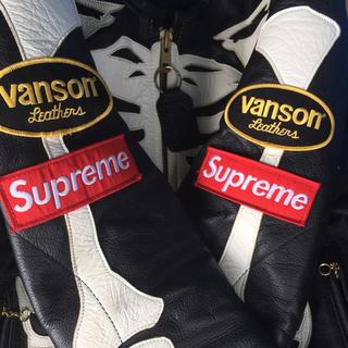 Supreme - supreme vanson leather bones jacket