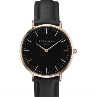 Daniel Wellington - Rosefield 腕時計 ブラック