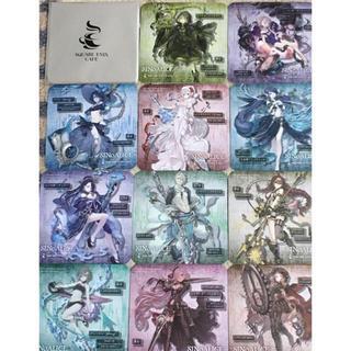スクウェアエニックス(SQUARE ENIX)のシノアリス 11枚 コースター(キャラクターグッズ)