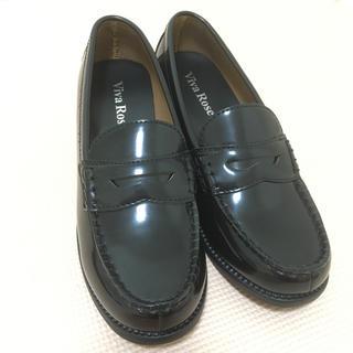 レディース ローファー ブラック(ローファー/革靴)