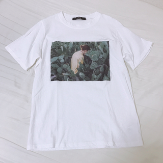 BEAUTY&YOUTH UNITED ARROWS - NO'S ノッシュ フォトプリントTシャツ
