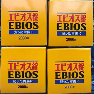 アサヒ(アサヒ)のAsahi エビオス錠 2000錠 ×4箱(その他)