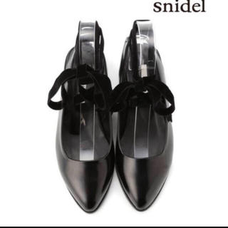snidel - snidel  3wayフラットシューズ
