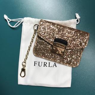 Furla - FURLA フルラ ゴールド パスケース