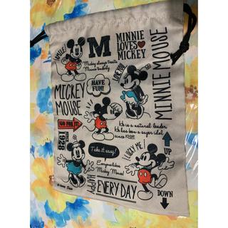 Disney - 巾着袋