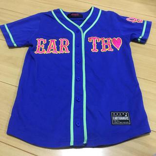 EARTHMAGIC - アースマジック130☆ベースボールシャツ