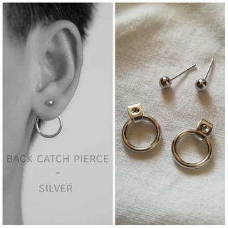 TOGA - back catch pierce  *  silver