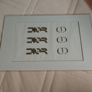 ディオール(Dior)のメンズノンノ7月号付録 ディオール メンズ ロゴステッカー(ファッション)