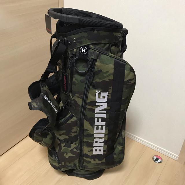BRIEFING(ブリーフィング)の【新品】ブリーフィング CR-4 #01 スタンド キャディバッグ 迷彩 カモ スポーツ/アウトドアのゴルフ(バッグ)の商品写真