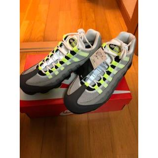 ナイキ(NIKE)のNIKE AIR VAPORMAX 95 NEON YELLOW(スニーカー)