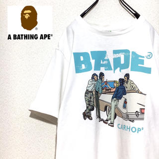 A BATHING APE - A BATHING APE Tシャツ CARHOP 半袖