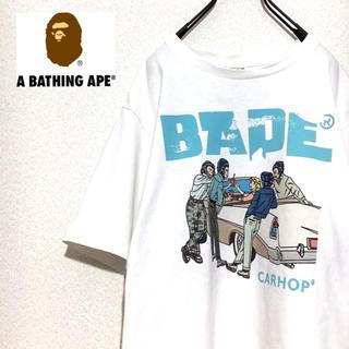 アベイシングエイプ(A BATHING APE)のA BATHING APE Tシャツ CARHOP 半袖(Tシャツ/カットソー(半袖/袖なし))