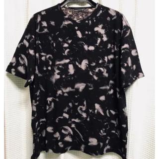 ラッドミュージシャン(LAD MUSICIAN)の着用一回 ラッドミュージシャン 2018SS 羽根柄 Tシャツ(Tシャツ/カットソー(半袖/袖なし))