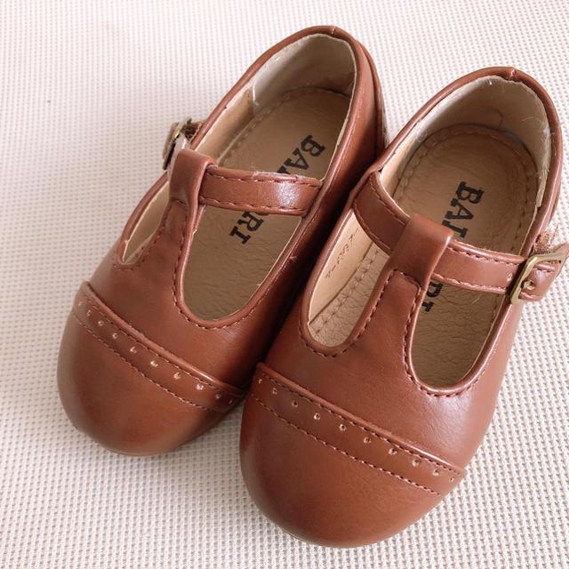 Tストラップシューズ キッズシューズ キッズ/ベビー/マタニティのベビー靴/シューズ(~14cm)(フラットシューズ)の商品写真