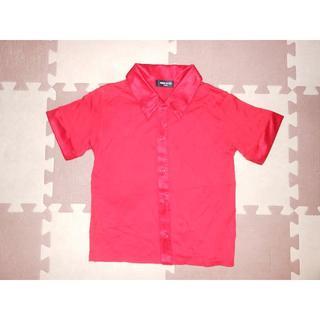 コムサイズム(COMME CA ISM)の新品未着用★657コムサイズムのシャツ 120★険:ラルフローレン・ダブルB(Tシャツ/カットソー)